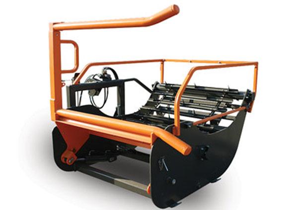 Mașină de desfoliat baloți H920